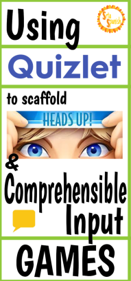 Using Quizlet to Scaffold Comprehensible Input